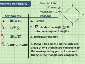 Congruent Triangle Proofs Geometry