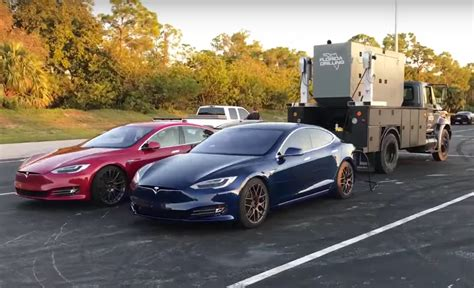 This Is What It Takes To Set A Tesla P100d 1/4 Mile World