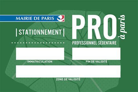 Carte De Stationnement Professionnel De Santé by Le Stationnement Pour Les Professionnels Gni Synhorcat