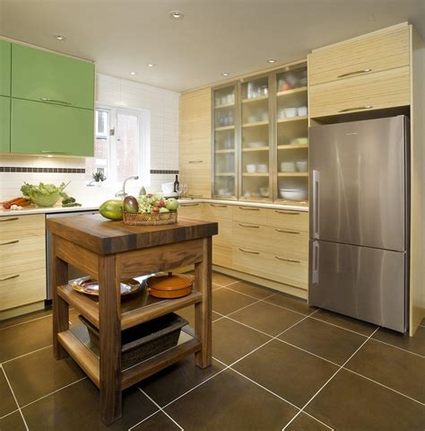 couleur de porte d armoire de cuisine bambou accent couleur cuisine thermoplastique bois quartz