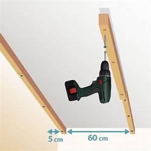 Fixation Lambris Pvc : poser du lambris au plafond lambris ~ Premium-room.com Idées de Décoration
