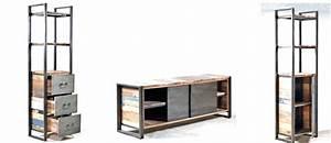 Meuble Industriel But : meubles de style industriel la collection edito rue ~ Teatrodelosmanantiales.com Idées de Décoration