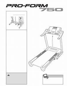 Proform Treadmill Pftl73105 2 User Guide