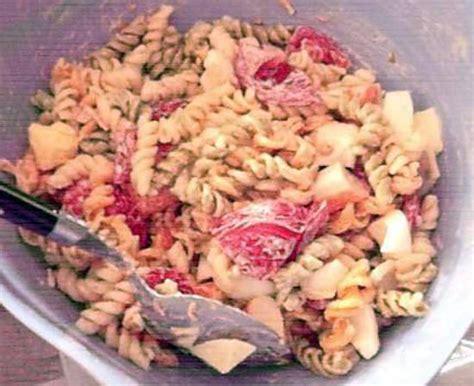 recette de salade de pate surimi