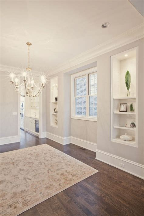 warm grey wall paint  white trim pld homes  houzz