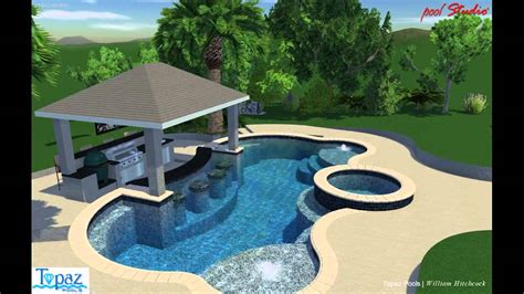 Bar Pool by Swim Up Bar Pool