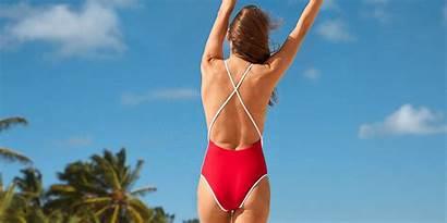 Piece Swimsuit Swimsuits Swimwear Lifeguard Baywatch Summer