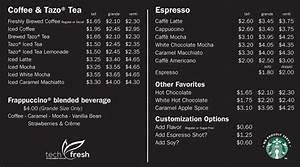 Starbucks menu and prices philippines 2017