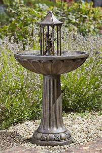 Solar Powered Water Feature - Dancing Couple
