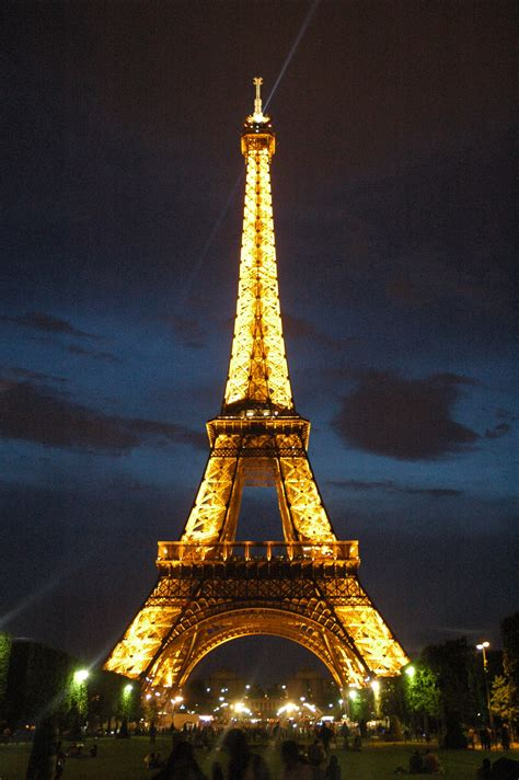 eiffel tower lights city of lights all but not equally