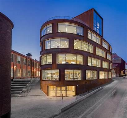 Architecture Kth Building Stockholm Tham Campus Last