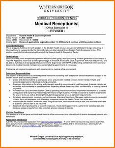 Chart Auditor Job Description 8 Medical Receptionist Job Description Introduction Letter