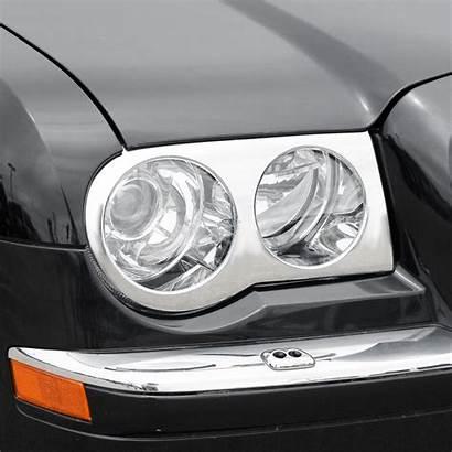 Headlight Chrome Putco Cruiser Land Toyota Bezels
