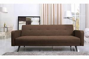 Canape convertible en tissu strub design sur sofactory for Tapis design avec canapé chocolat tissu