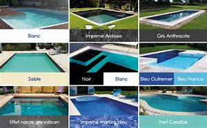 piscine enterree piscine hors sol bois sur chartres 28 With piscine avec liner gris clair 4 structure escalier et couleur de leau de votre piscine
