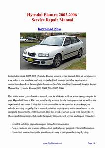 Hyundai Elantra 2002-2006 Repair Manual By Hong Ling