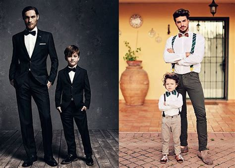 matching father son formal outfits