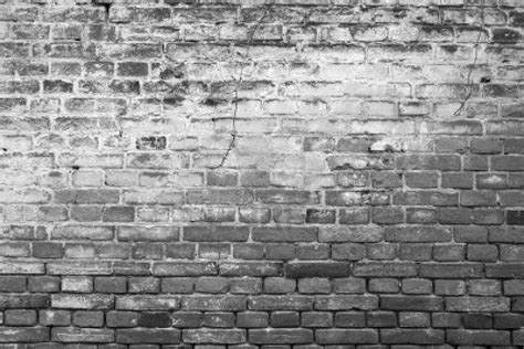 black  white brick wallpaper  grasscloth wallpaper
