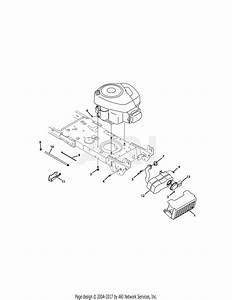 Troy Bilt 13wn77ks011 Pony  2011  Parts Diagram For Engine