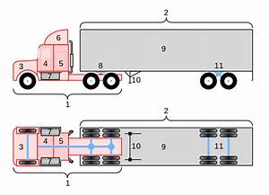 File Conventional 18-wheeler Truck Diagram Svg
