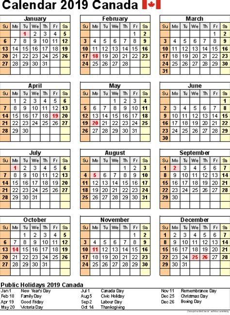 printable calendar canada holidays printable calendar