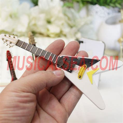 miniature guitar replica toy  christmas ornament gifts