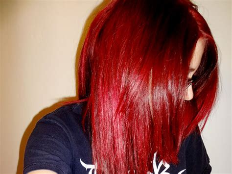 Red Wine Hair Color Shades