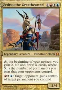 strong opinions about an impotent goat in edh still magic