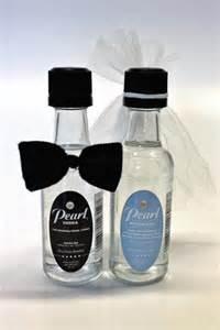 Mini Liquor Bottles Wedding Favors