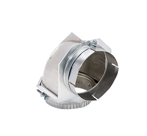 90 Degree Close Elbow Dryer Vent  26 15503