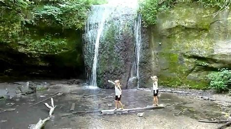 stephens falls  governor dodge state park