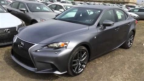 lexus gray new grey 2015 lexus is 350 4dr sdn awd f sport series 2