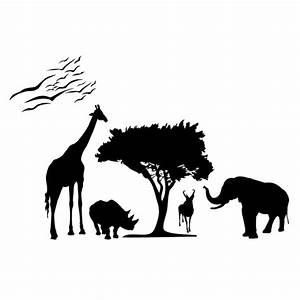 Stickers Animaux De La Jungle : stickers animaux savane france stickers ~ Mglfilm.com Idées de Décoration