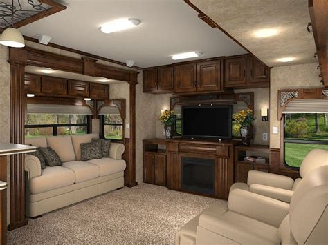 Decorating Ideas For Trailer Living Room by 82 Best Images About Rv Luxury On