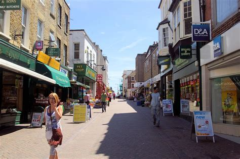 Margate town centre 8th July 2010