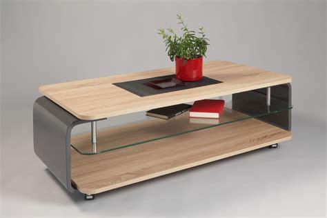 table basse bois gris clair table basse plateau bois