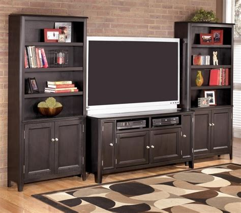 Tv Stands With Bookcases by 50 Inspirations Tv Stands With Matching Bookcases Tv