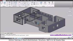 AutoCAD 3D House Modeling Tutorial - 1 3D Home Design