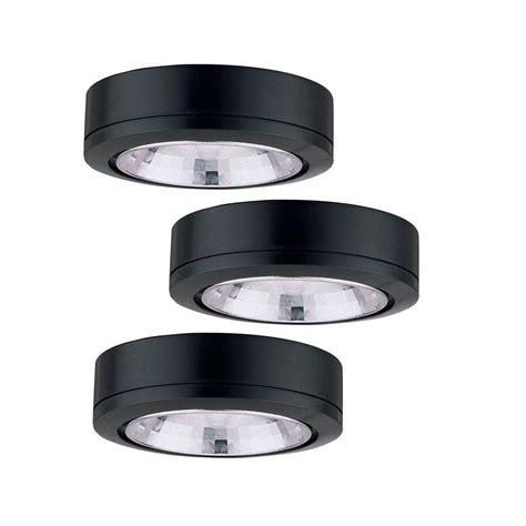 sea gull lighting ambiance low voltage 3 light xenon black