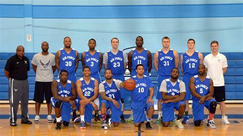 air force mens basketball team vies  ninth