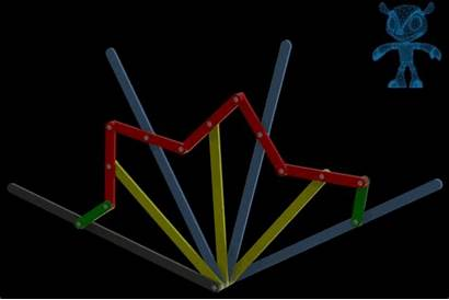 Linkages Angle Mechanical 3d Models Cad Splitter