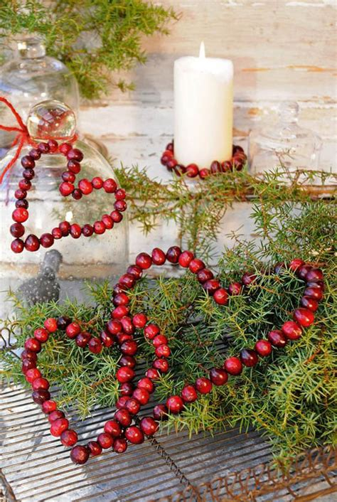 30 christmas decorating with cranberry all about christmas