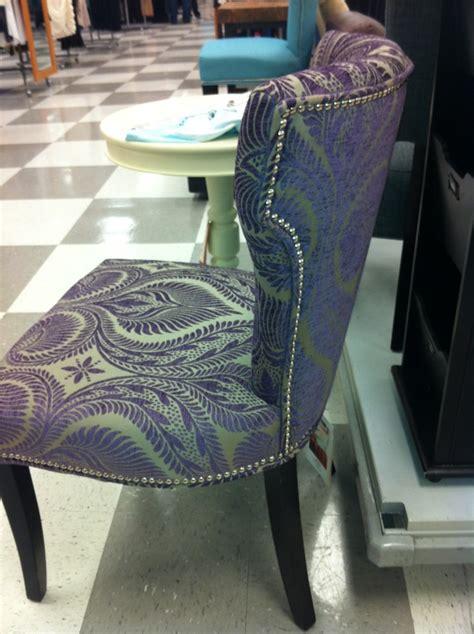 purple chair found at tj maxx bright bold glam
