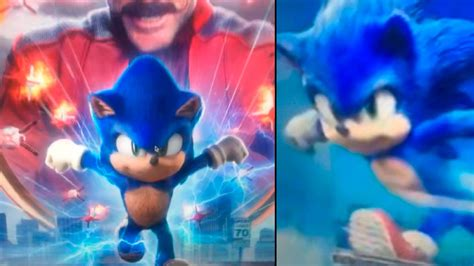 Sonic Filme | Vaza imagem promocional com o novo design ...