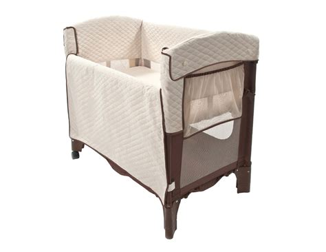 Arms Reach The Mini Arc Convertible Bedside Bassinet-cocoa