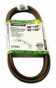 Murray 37x61 37x61ma Oem Genuine Motion Drive Belt 38 U0026quot  40