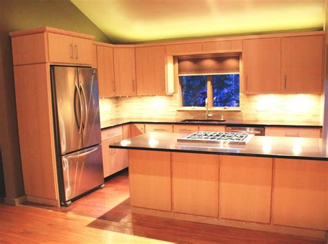Hand Crafted Custom Ash Kitchen Cabinets By Blue Spruce