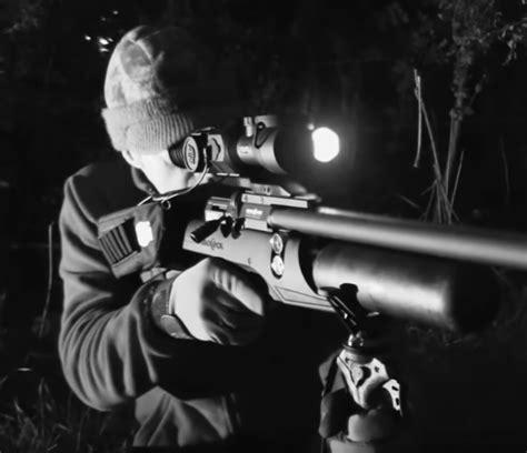airgun show day  night vision rabbit hunting