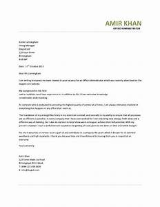 office assistant cover letter With covering letter for office administrator