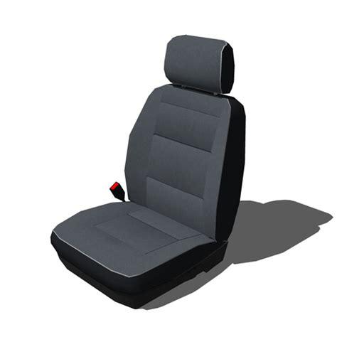 Car Seats Set A 3d Model  Formfonts 3d Models & Textures